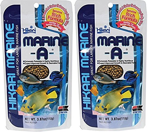 Marine Sales Hikari - Hikari Marine Pellets for Pets, 3.87-Ounce (2 Pack)