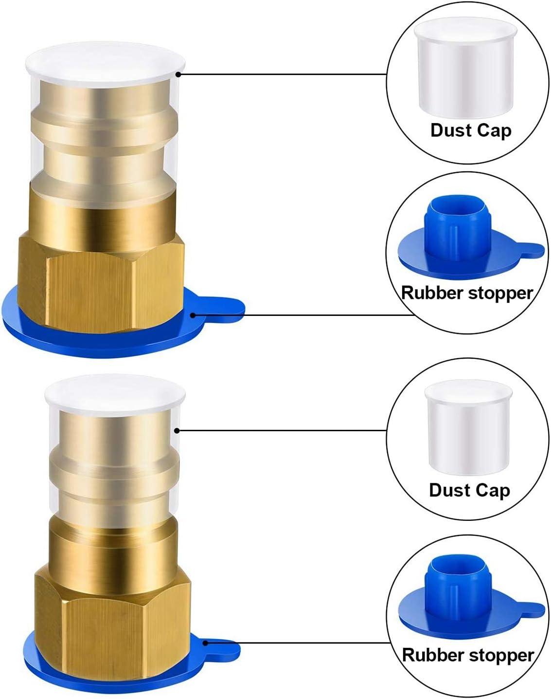 PQZATX Kit di Conversione da R12 Un R134A BPV31 Rubinetto per Piercing Valvola di Apertura del Refrigerante Valvola 8401 Adattatore per Pompa del Vuoto del Refrigerante