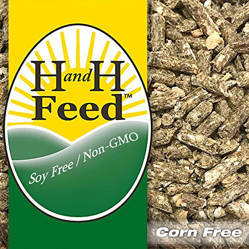 All Natural Rabbit Feed Shine Growth Freshly Milled: Non-GMO, Soy Free, Corn Free Organic Fertrell Vitamins Minerals (20lb)