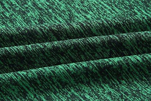 Larghi Vita Eleganti Palazzo Casual Gamba Pants Verde Pantalone Vintage Larga Donna A Alta Hip Pantaloni Yoga Scuro Hop qgCWHUwx
