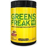 PHARMAFREAK - GREENS FREAK - 262G - USA - VC - Powder - HYBRID SUPERFOOD GREENS SUPPLEMENT - Vanilla Chai - Designed for ATHLETES and LIFTERS