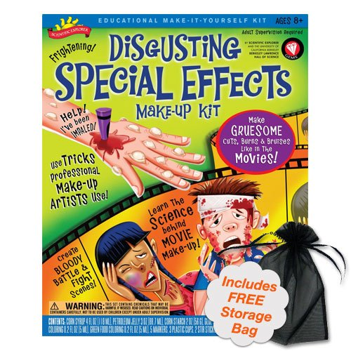 [Scientific Explorer Disgusting Special Effects Makeup Kit] (Special Effects Makeup Kit)
