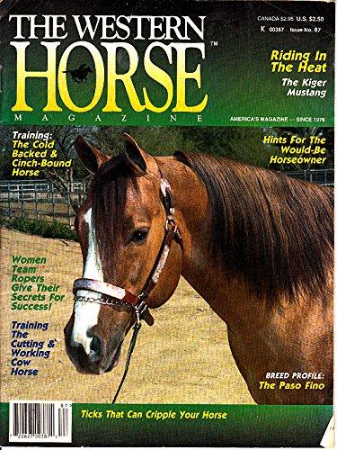 Western Horse Magazine July 1995