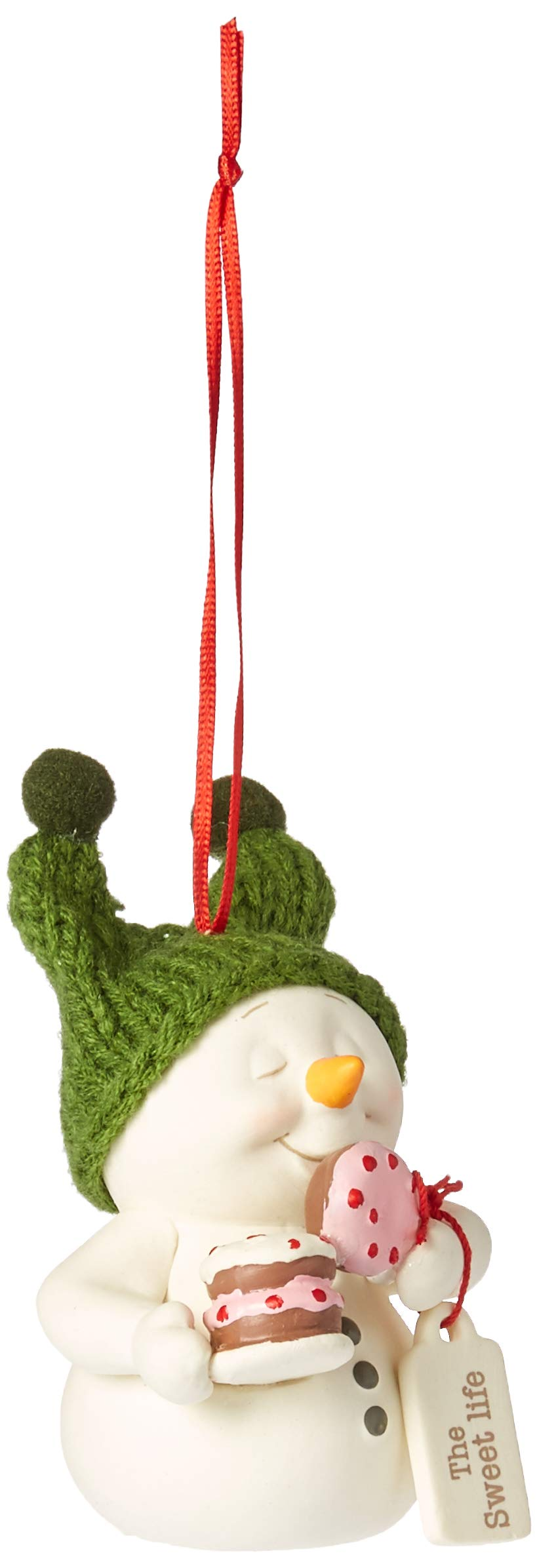 Its Mine Ornament 3 Department 56 Snowpinions Bisque Porcelain I Licked It