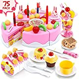 AUGSEP Play Toys for Kids - Play Birthday Cake Children's Day Gift...