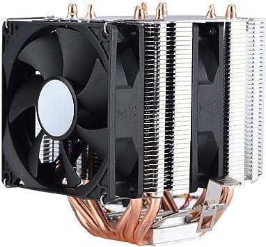 Bewinner 4 Pines 6 Heatpipe Enfriador de CPU, Refrigeración por ...