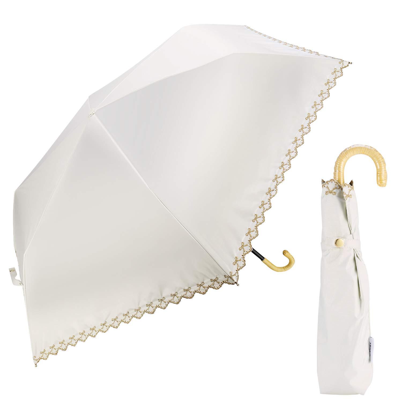 TAIKUU 折りたたみ傘 軽量 丈夫な10本骨 Teflon超撥水 コンパクト 折畳み傘 晴雨兼用 手動開閉 おりたたみ傘 傘カバー付き 270g T10