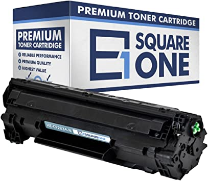 Black, 10-Pack eSquareOne Toner Cartridge Replacement for HP 83A CF283A