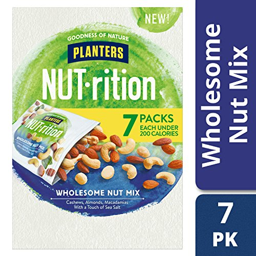 Planters Nutrition Wholesome Nut Mix Pack, 7.5 (Fresh Snack)