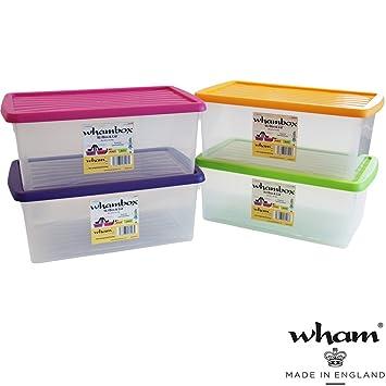 Hervorragend 3 er Set Boxen mit Deckel, 9 L, Lebensmittelecht, Stapelbar, 38x23  ZY53
