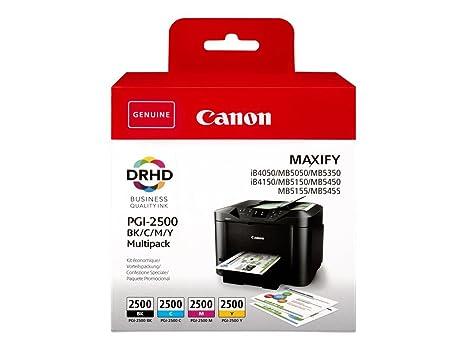 Canon PGI-2500 Cartuchos Valuepack de tinta original Negro ...