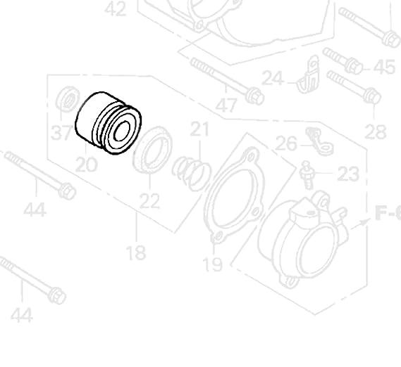 Amazon Clutch Slave Cylinder Piston Honda Interceptor 500 700 800 Rvt1000r Vtx1800c Vtx1800r Gl1500c Vtx1800s St1100 St1300 Valkyrie 1800: 1985 Honda Interceptor Wiring Diagram At Hrqsolutions.co