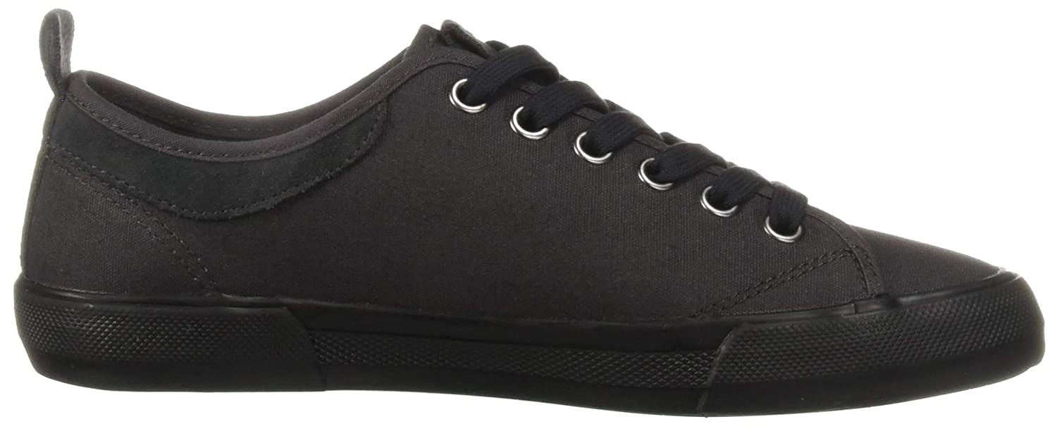 Fred Perry Mens Horton Waxed Canvas//Suede Sneaker