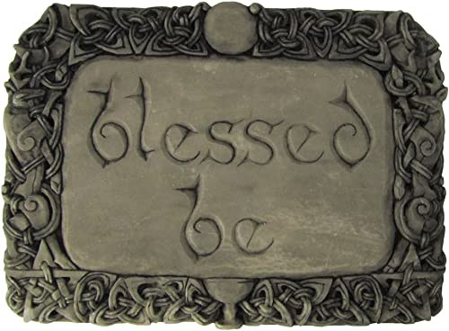 Dryad Design Blessed Be Wall Plaque Stone Finish
