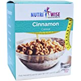 NutriWise - Cinnamon Cereal | Healthy Delicious Breakfast | High Protein, Low Carb, Low Calorie, Sugar Free, Gluten Free…