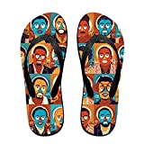 Flip Flop Slipper Africa-innovators Summer Beach Slim Thong Sandal Outdoor Casual Footwear For Women Men Kids
