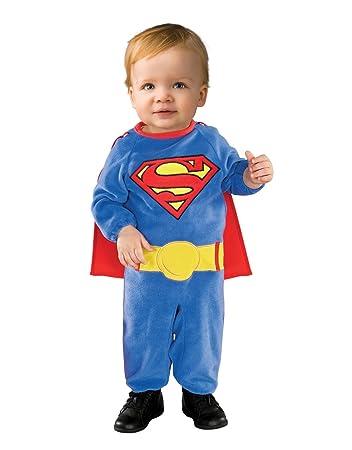 Superman Costume Kids Superman Romper Costume Newborn Age 0 - 6 months  sc 1 st  Amazon UK & Superman Costume Kids Superman Romper Costume Newborn Age 0 - 6 ...