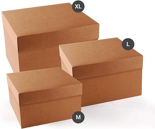 Selfpackaging Cajas de cartón para Sombreros. Un Estilo Pack de 25 Unidades - XL: Amazon.es: Hogar