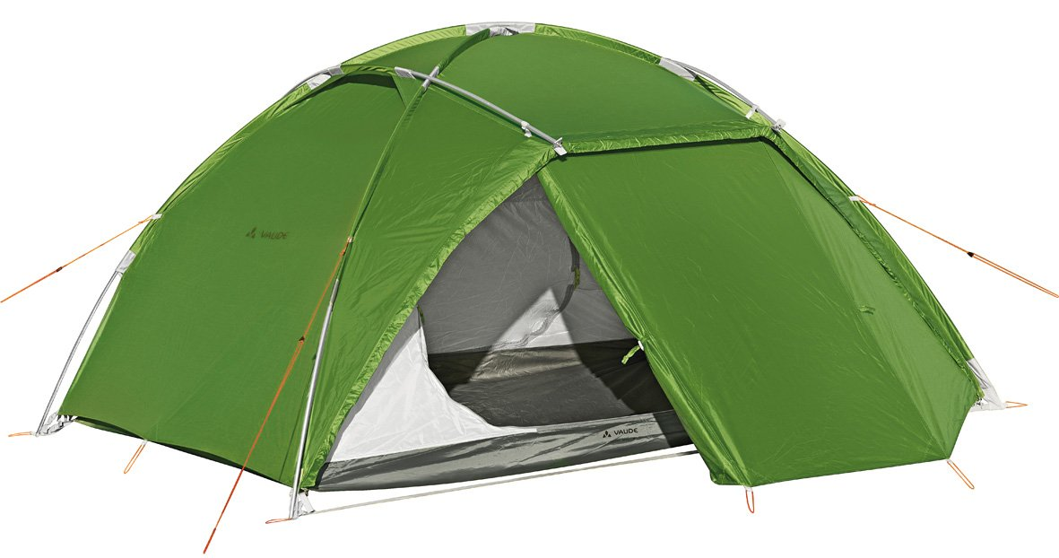 Vaude Zelt Space L 3 Personen, green, WS=3.000 mm