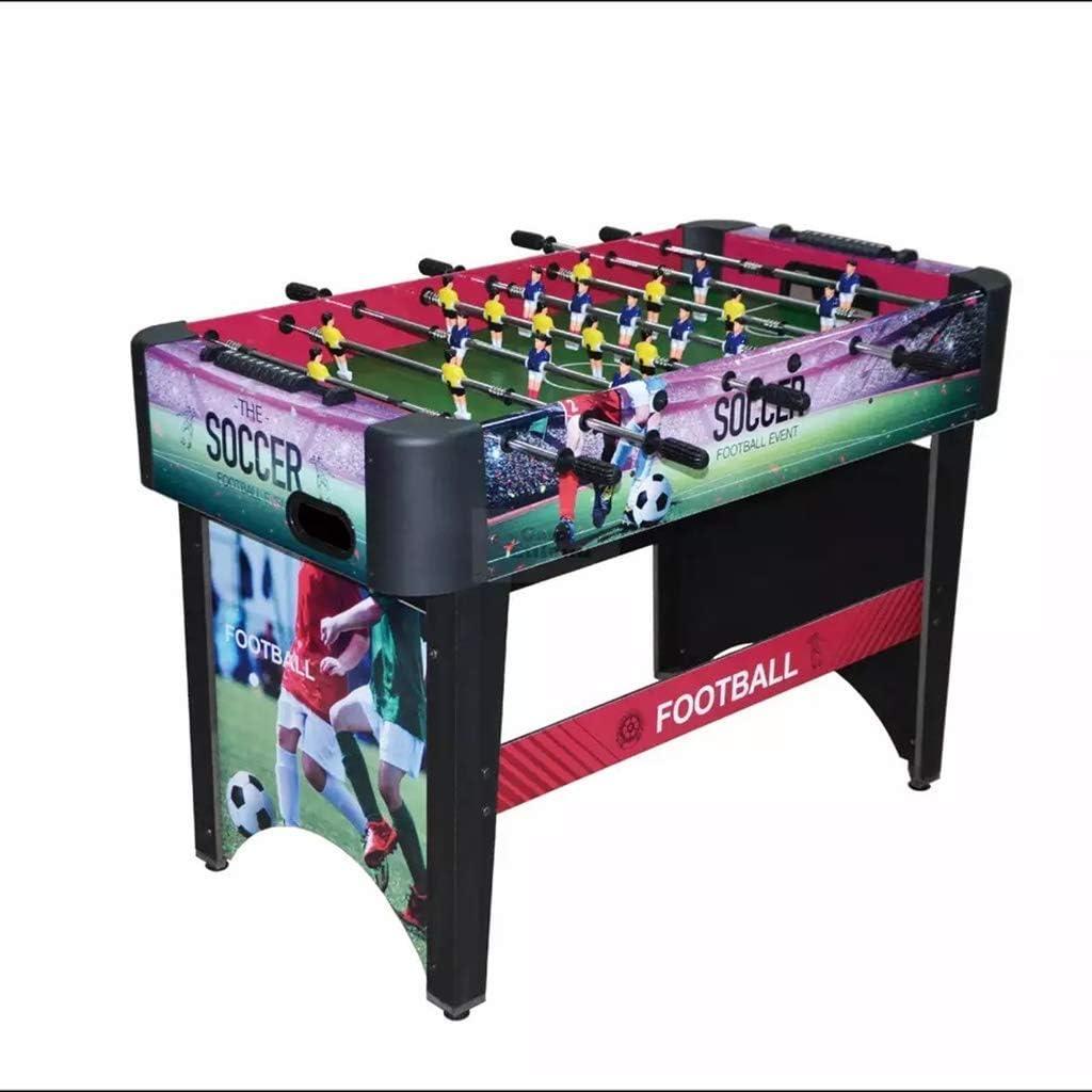 YUHT Futbolín Infantil,Mesa de Futbolín Competencia fútbol de la Tabla Fútbol Foosball tamaño de Mano de fútbol Sala de recreación for la Sala Arcade Juego Metal 48