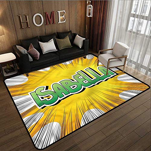 - Bedroom Rug Isabella Retro Style Cartoon Ideal Gift for Children 4'7