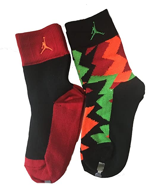 huge selection of a7d74 3f99f Boys  Air Jordan Retro 7 2-Pack Crew Socks 10C-3Y  Amazon.ca  Clothing    Accessories