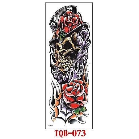 tzxdbh 3 Unids- Brazo Completo Tatuaje Pegatinas Impermeable Brazo ...