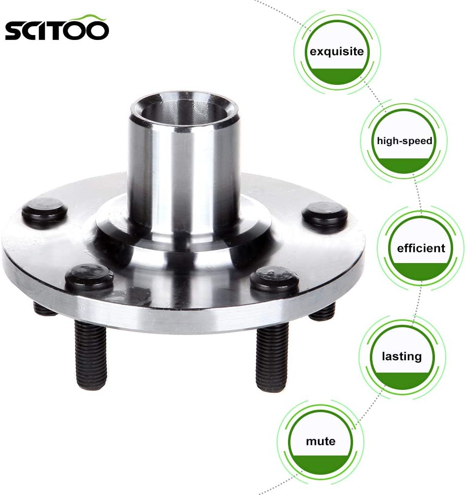 518508 Front Wheel Hub Bearing Assembly fit 1999-2003 Lexus Toyota 5 Lugs SCITOO Compatible with Both 2