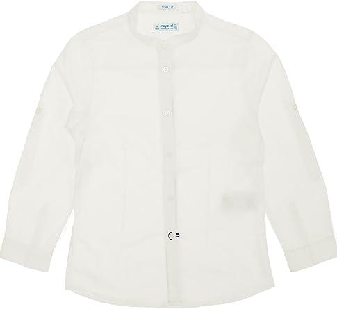 Mayoral, Camisa para niño - 3170, Blanco: Amazon.es: Ropa y ...