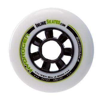 Rollerblade - Ruedas para patines en línea de hidrógeno 90 mm/85 A 8 unidades Custom inlineskates. com 2017 - 90 mm: Amazon.es: Deportes y aire libre