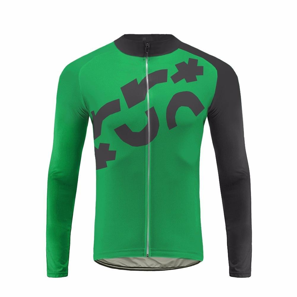 Uglyfrog Winter Warm Vlies Radsport-Shirt Long Sleeve Herren,Radtrikot mit Lange Ärmel,Fahrradhemd Jacket,Hemd für Das Fahrrad,Fahrrad Trikot für Männer Anzüge