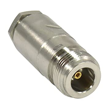 altelix N conector hembra de pinza para LMR195 lmr-195 RG58 cable 2-Pack