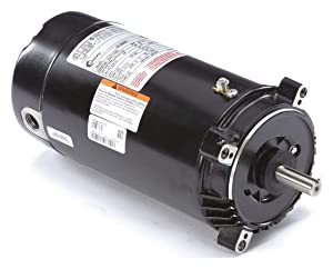 AO Smith/Century Electric Full Rated, Single Speed, 0.75HP, 3450RPM, 115/230V, 14.6/7.3 AMPS, 1.5SERVICE Factor, C-Face Flange