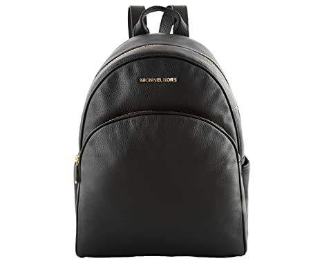 098deec83ea0 Buy MICHAEL Michael Kors Abbey Jet Set Large Leather Backpack (Black)  Online at Low Prices in India - Amazon.in