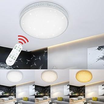 50W LED Deckenleuchte Sternenhimmel Wandlampe Starlight-Design Dimmbar Lampe