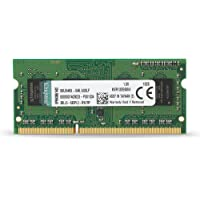 Kingston Value RAM 4GB 1333MHz PC3-10600 DDR3 Non-ECC CL9 SODIMM SR X8 Notebook Memory (KVR13S9S8/4)
