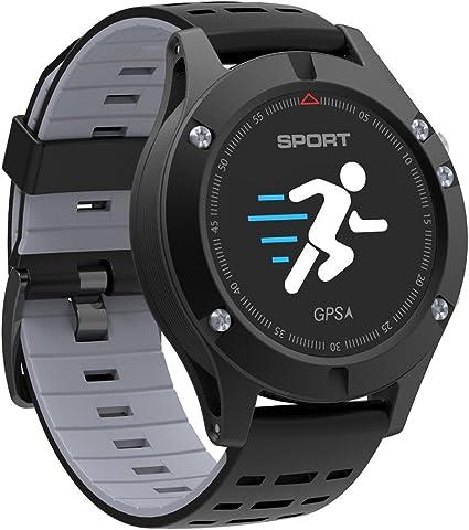 Amazon.com: No.1 °F5 reloj inteligente Android monitor de ...