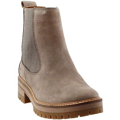 f6a332981 Timberland Women's Courmayeur Valley Chelsea Boot Medium Grey Nubuck (6  B(M) US