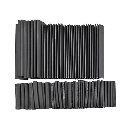 20 5 6 10 BLACK HEAT SHRINK ELECTRICAL TUBING WRAP SLEEVING CAR CABLE 2:1 RATIO HEATSHRINK 1.5 1 Meter Length 13 3 WILKINSON.SALES 1.5mm Diameter 2 25 /& 50mm DIAMETERS Also AVAILABLE