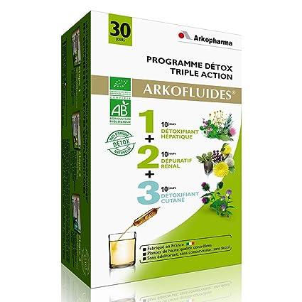 Arkopharma Arkofluides - Programa depurativo de triple acción