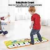 Oyunngs Alfombrilla de música para bebés de 90 * 27 cm, Alfombra de Piano para niños, Juguete Musical Educativo Regalo…