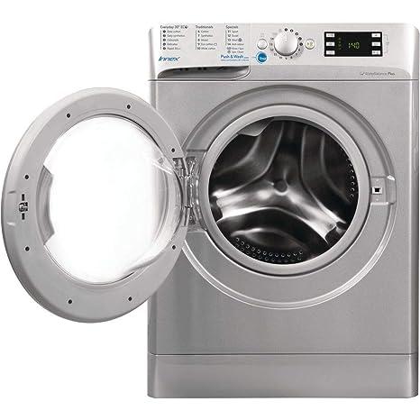 Indesit BWE91484XSUK Innex 9kg 1400rpm Freestanding Washing ...