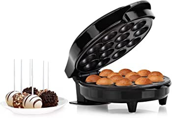 Holstein Housewares Black Cake Pop Maker