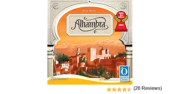 Asterion - Alhambra Juego de Mesa: Amazon.es: Juguetes y juegos