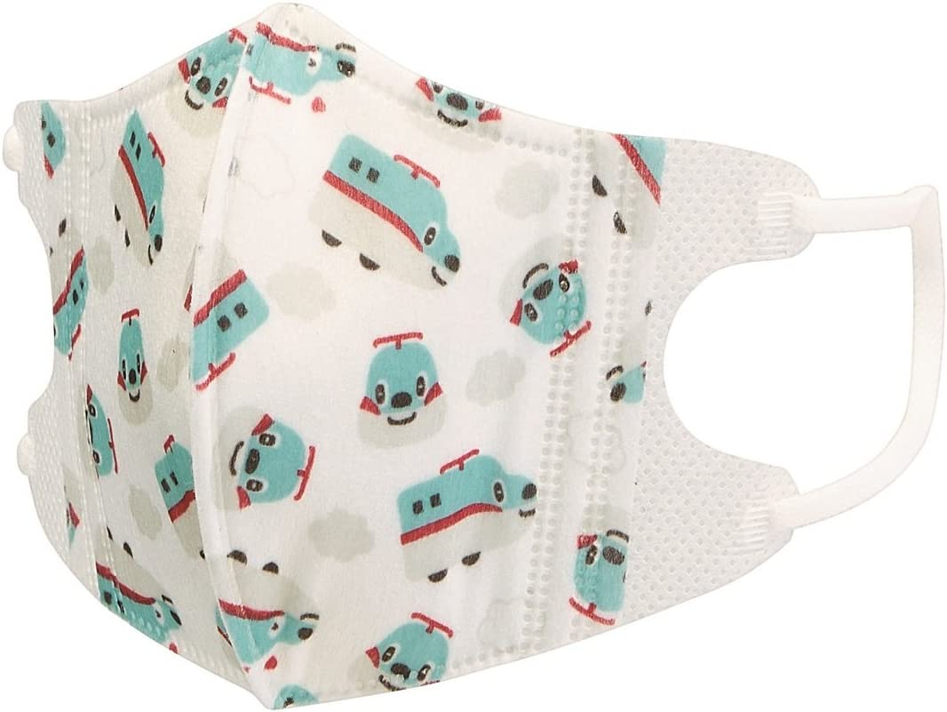 Skater three-layer structure three-dimensional mask 1-3 years old baby for child