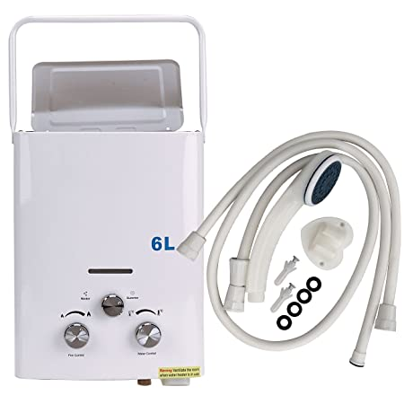 Iglobalbuy 6L LPG Propane Gas Instant Tankless Hot Water Heater ...