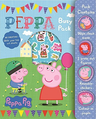 Peppa Pig Busy Pack - Stickers & Activities