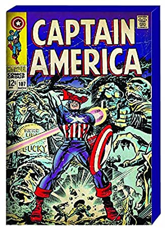 Vintage Comics: Large Marvel Captain America Retro Comic Book Cover Wood  Box Art, Captain