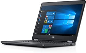 Dell Latitude E5470 14 inches FHD Laptop, Core i7-6820HQ 2.7GHz, 16GB, 512GB Solid State Drive , Windows 10 Pro 64Bit, (Renewed)