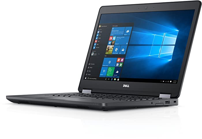 Fast Dell Latitude E5470 HD Business Laptop Notebook PC (Intel Core i5-6300U, 8GB Ram, 256GB Solid State SSD, HDMI, Camera, WiFi, SC Card Reader) Win 10 Pro (Renewed)